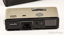 Minolta, Minolta 16 PS 1974-1974  sub-miniature camera film 16