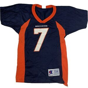 Denver Broncos Elway #7 Champion Youth Jersey Size S (6-8) Football