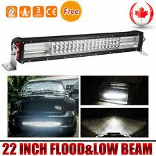 22INCH 1200W LED Light Bar Flood Spot Combo Winter Fog Snow Offroad 4x4WD Truck