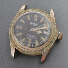 Vintage Sheffield All Sport Swiss Made Diver Watch For Parts Repair Spares