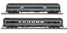 HO MTH Union Pacific 2 Car Heavyweight Passenger Set for 2 Rail Track 80-40005