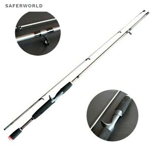 Spinning Casting Fishing Rod Pole Tip Lure M Power Carbon Fiber Bait Tackle Carp