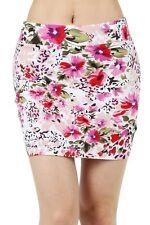 New Women's Bodycon Floral Print Mini Skirt 4562