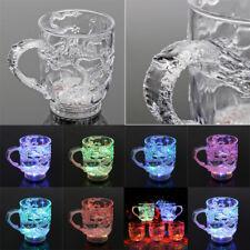 Automatic LED Light Color Change Dragon Flashing Cup Mug Bar Water Sensor Gift