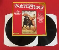 LES PLUS BEAUX BOLÉRO PASOS VOL 1 MENDOZA 66.435 EX 2X VINYLES 33T LP