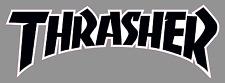 "Thrasher Magazine Logo 6"" Premium Vinyl Decal Sticker Old School Skateboard Rad"