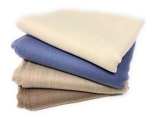 Pashmina 100% Kaschmir Stola Schal aus Indien Wolle Cashmere Wool 200 x 75 cm