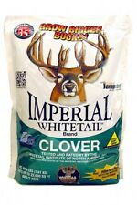 Deer & Turkey 1 lb IMPERIAL CLOVER Seeds Food Plot Whitetail Institute No Plow
