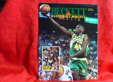 NBA Beckett Magazine Seattle Supersonics Shawn Kemp Oct 1993