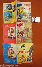 Lotto 3 TEX GIGANTE Araldo Bonelli 93 95 99 da lire 200 del 1969 1968 originali