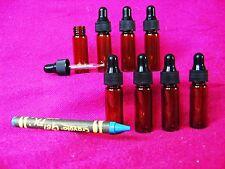 SET 8(Eight) Mini Dropper Bottles E Cig Cigarette Juice Liquid Oil Refill Vape