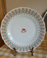 "White Star Line Wisteria 10"" Repro Dinner Plate - Immaculate"