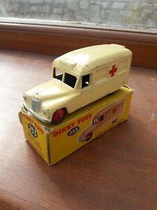 Dinky Toys 253 Daimler Ambulance In Original Box
