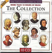 """Greatest Classical Hits""   NEW SEALED 10 CD Set   --   10+ Hours of Music"