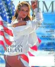 MAXIM Magazine September 2016 Anne V (Vyalitsyna) Cover, Alessandra Ambrosio NEW