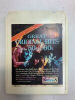 Great Original Hits Of The 50's & 60's Tape 4 8 Track Tape Various Artists