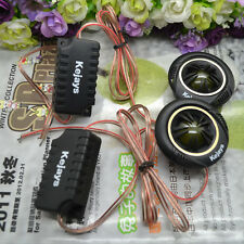 Compact Useful Car 120W 91dB Audio Dome Speakers Super Power Tweeters Loud 2Pcs