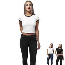 Bauchfreie Normalgröße Damenblusen, - tops & -shirts aus Baumwolle