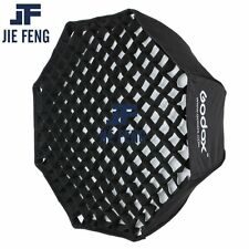 Godox Portable 120cm Umbrella+Grid Photo Softbox Reflector for Flash Speedlight