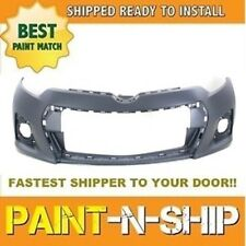 Fits: 2014 2015 2016 Toyota Corolla S Front Bumper PAINTED -TO1000400