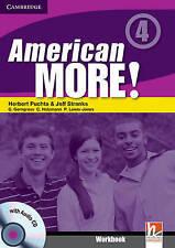 American More! Level 4 Workbook with Audio CD, Lewis-Jones, Peter, Holzmann, Chr