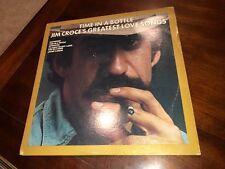 Jim Croce – Time In A Bottle Jim Croce's Greatest Love Songs Vinyl LP
