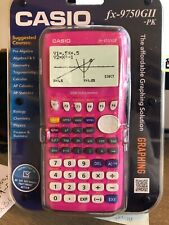 Casio - Fx-9750Gii - Graphing Calculator Pink New