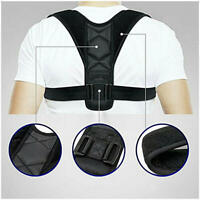 Unisex Posture Clavicle Support Corrector Back Straight Shoulders Brace Strap
