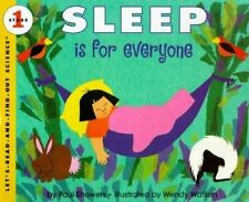 Sleep Is for Everyone by Paul Showers Paperback Book (English) FREE POST