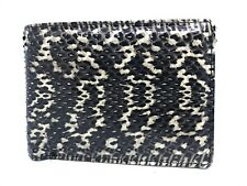 Genuine Cobra Snake Skin Leather Men's Bifold Wallet