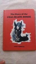 Old Book the Story of the Coal-Black Horse by Ernst Heimeran 1968 1st US Ed. GC