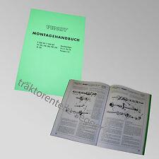 Fendt Montagehandbuch Geräteträger FIX 2 / 16 Farmer 1 Z Traktor Schlepper 15000