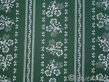 Tessuto vestito tirolese Cotone verde scuro Costume tradizionale Fiore Di Stoffa