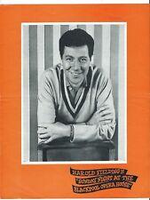 MAX BYGRAVES LUIGIA CANOVA LAWRIE  OPERA HOUSE BLACKPOOL CONCERT PROGRAMME 1968