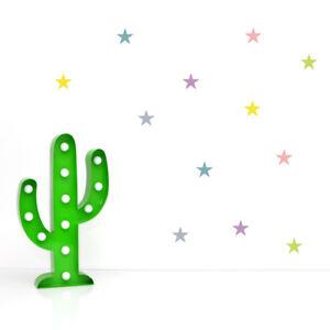 Wandsticker Sterne Wandtattoo Girls Aufkleber Sticker Stars Kinderzimmer Bunt