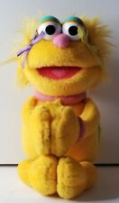 Sesame Street Zoe Plush Stuffed  Magnetic Hands Feet Small 8.5""