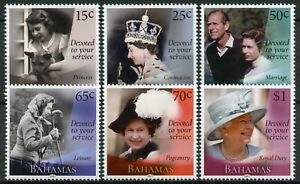 Bahamas Royalty Stamps 2021 MNH Queen Elizabeth II 95th Birthday 6v Set