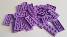 Lego Medium Lavender Plate 2x4, Part 3020, Element 4619516, Qty:25 - New