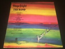Garth Hudson SIGNED Stagefright LP Album The Band The Last Waltz PROOF