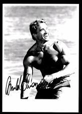 Arnold Schwarzenegger Autogrammkarte Hollywood Filmstar