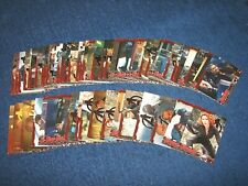 2015 MARVEL AVENGERS AGE OF ULTRON SILVER PARALLEL CARD SET 60/90 (18-37)