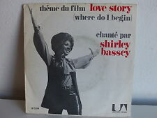 SHIRLEY BASSEY Theme du Film Love Story UP 35194