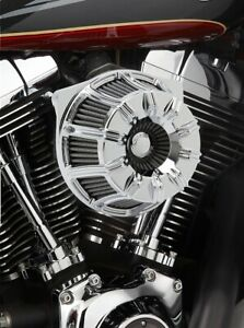 Arlen Ness Inverted Series V-Twin Air Cleaner Chrome 10-Gauge 18-940 USA Made