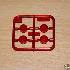 Tamiya 56314 Knight Hauler, 9115137/19115137 S Parts (Red Lights/Lens), NEW