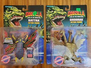 Trendmasters Godzilla King of Monsters 1994 BATTARA and GHIDORAH NEW MOC