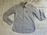 SUPERDRY BNWOT Designer Men's Long Sleeve Striped Shirt XL