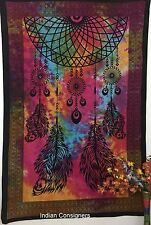Dream Catcher Tapestry Wall Hanging Cotton Bedding Sheets Bedspread Twin Feather