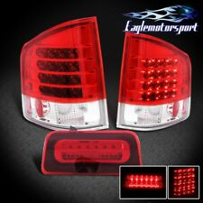1994-2004 Chevy S10/GMC Sonoma LED Tail Lights + 3Rd Brake Lamp Set