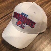 Vintage Hockey Brand Quebec Nordiques White Reebok Adjustable Hat
