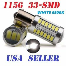Front Signal 1156 BA15S 5630 7506 33SMD White RV Reverse LED Light For TOYOTA